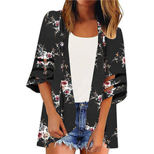 Load image into Gallery viewer, New Floral Print Kimono Cardigan - monach-butterfly