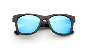 Open image in slideshow, Tymber TRITON Bamboo Sunglasses with Polarized Lenses