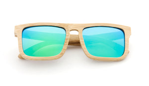 Tymber KRAKEN Bamboo Sunglasses with Polarized Lenses
