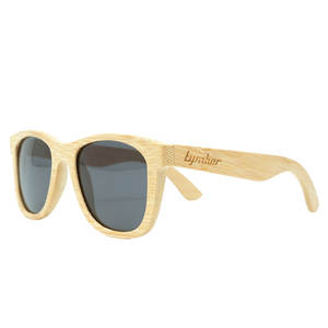 Tymber TRITON Bamboo Sunglasses with Polarized Lenses