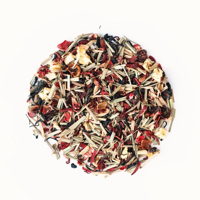 JusTea® Purple Rain Loose Leaf African Tea