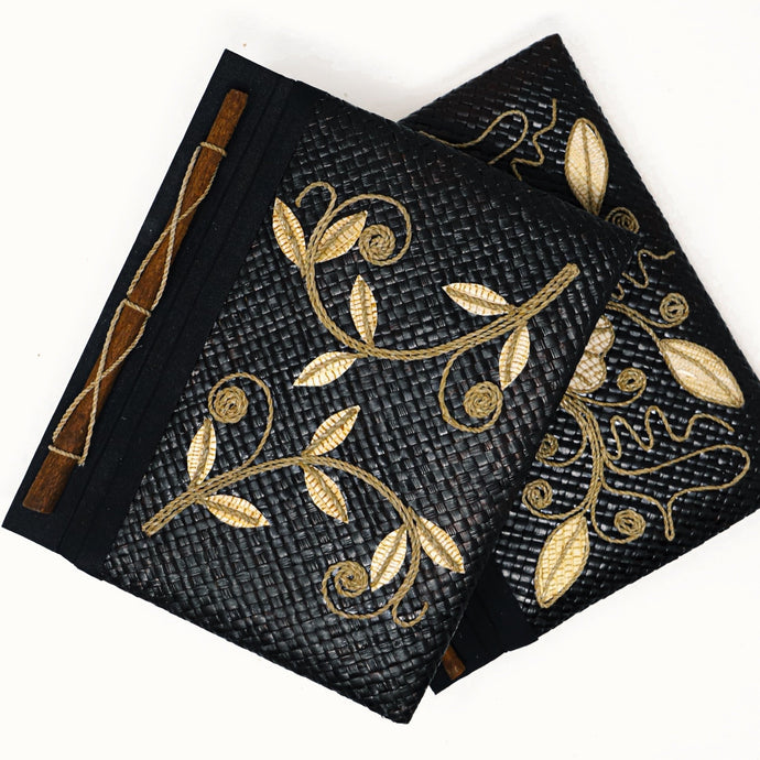 Handmade Pandanus Journals From Indonesia