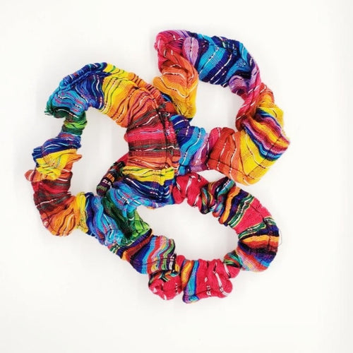Handmade San Antonio Scrunchie from Guatemala
