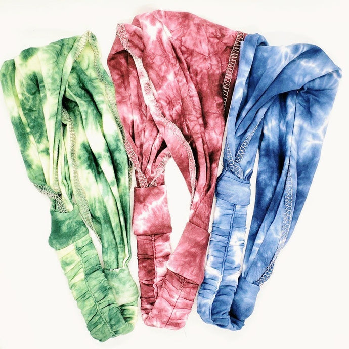 Tie Dye Cotton Headbands