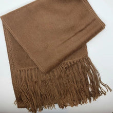 Load image into Gallery viewer, Alpaca 100% Brushed Scarf (Assorted Colors) From Peru