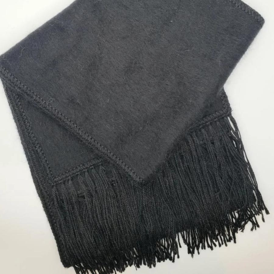 Alpaca 100% Brushed Scarf (Assorted Colors) From Peru