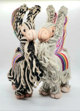 Load image into Gallery viewer, Handcrafted Stuffed Animal Wool Llama Doll from Peru