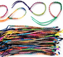 Load image into Gallery viewer, Friendship Bracelets Spiral Cords Pack of 5
