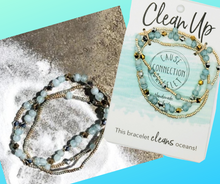 Load image into Gallery viewer, Cause Connection Bracelet - Clean Up- Our Ocean