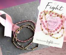 Load image into Gallery viewer, Cause Connection Bracelet - Fight- Cancer