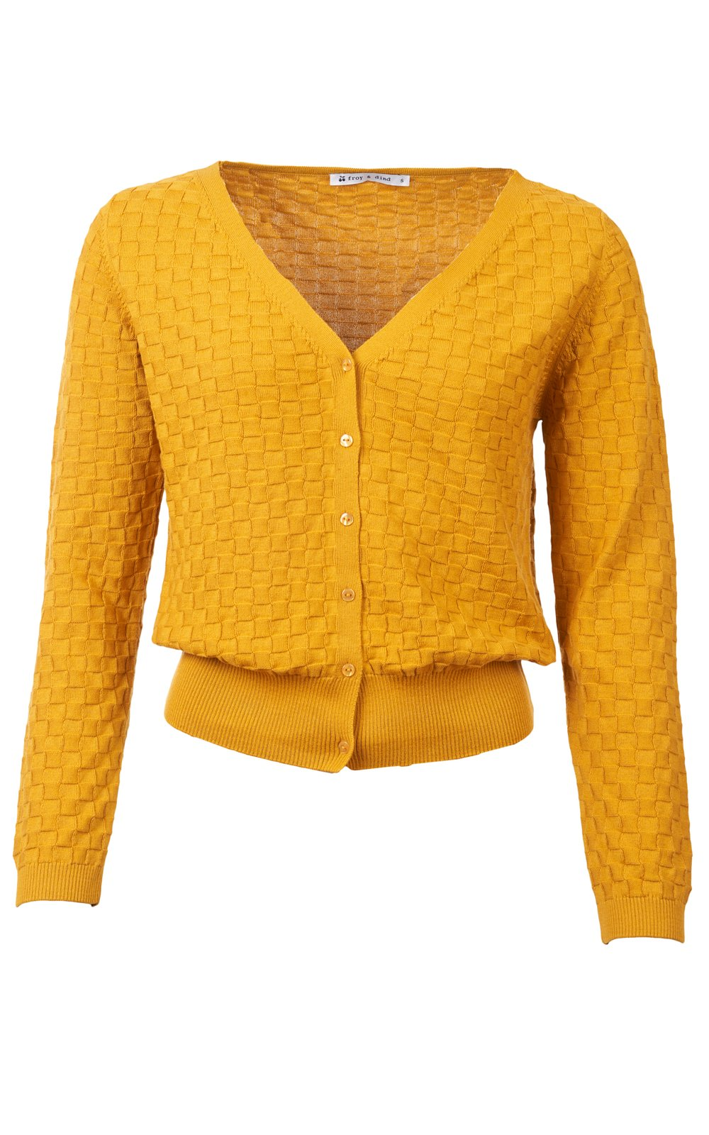 Froy & Dind - Cardigan Ocre