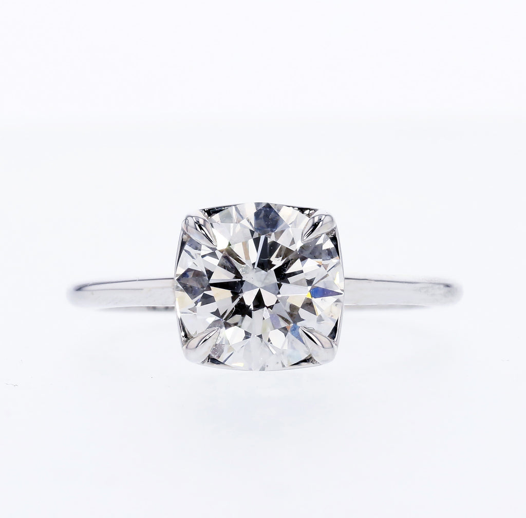 Heirloom Solitaire Engagement Ring