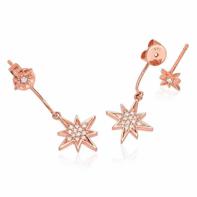 Dangling Star Earrings
