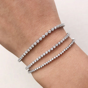 Medium Diamond Tennis Bracelet