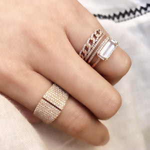 Double Row Ring