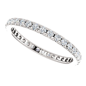 French-Set Eternity Band 1.5mm