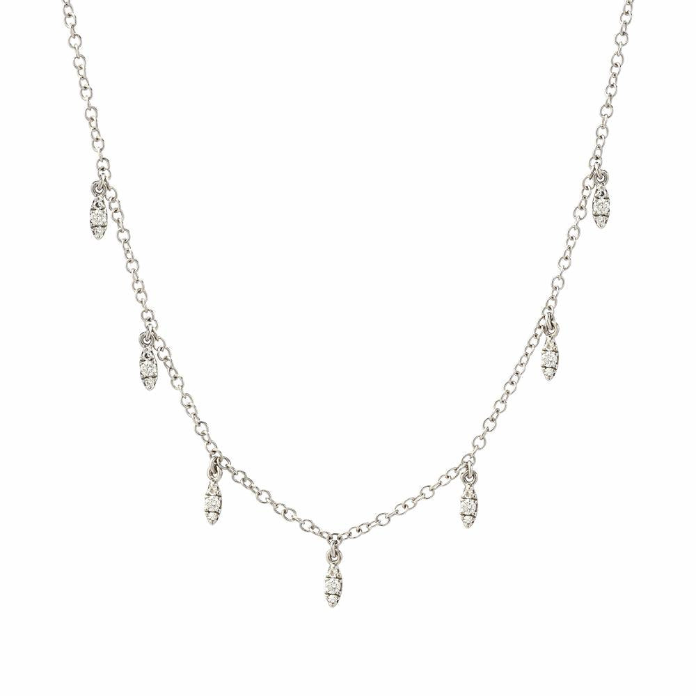 Marquise Droplet Necklace