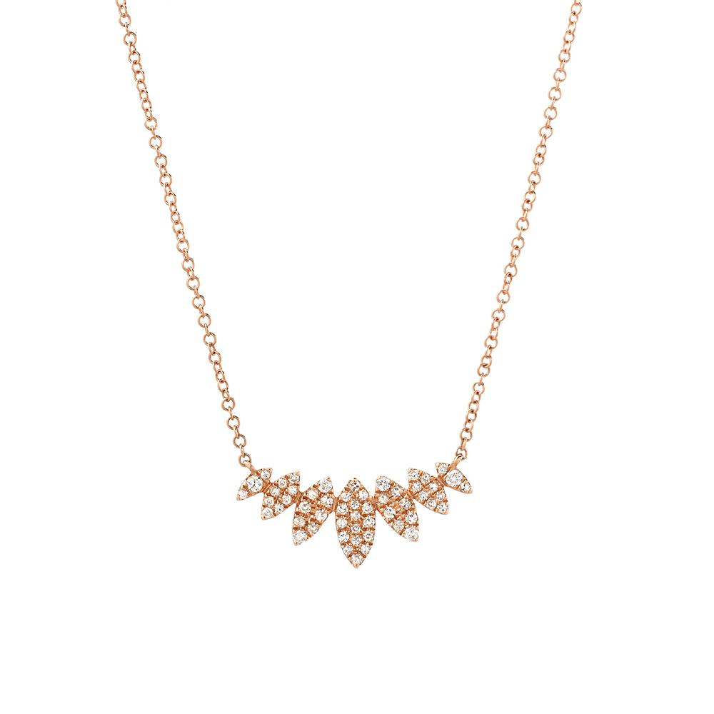 Multi Marquise Necklace