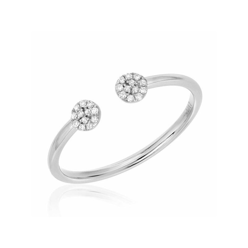 Petite Double Round Ring