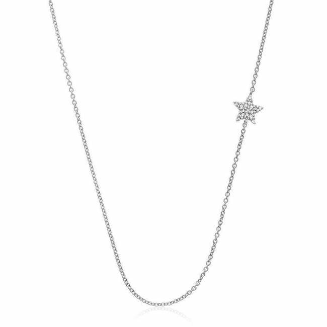 Sideways Star Necklace