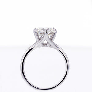 Six-Prong Solitaire Engagement Ring