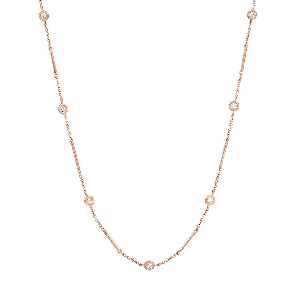 Unity Chain Necklace with Station Diamonds