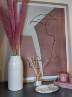 Dried Pampas Grass Dyed Pink