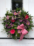 Spring Door Wreath