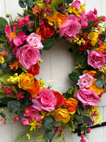 Bohemian Bright Wreath