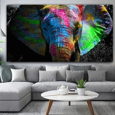Affiche - COLORS ELEPHANT
