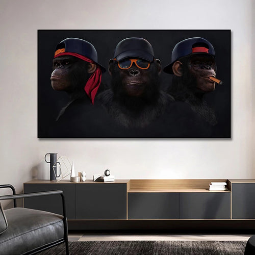 Affiches - 3 MONKEYS SWAG
