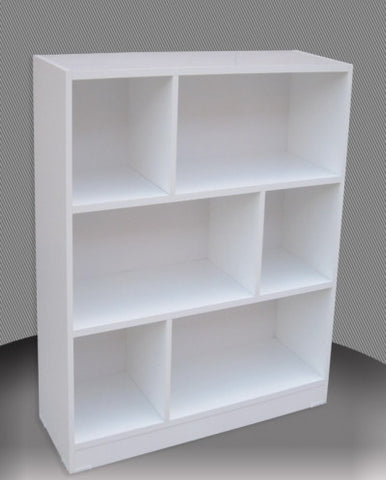 Staggered Bookcase 3 Ft in Melamine