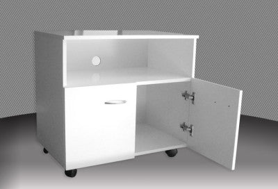 Melamine TV Trolley