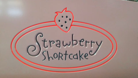 Strawberry Shortcake Kids Bed