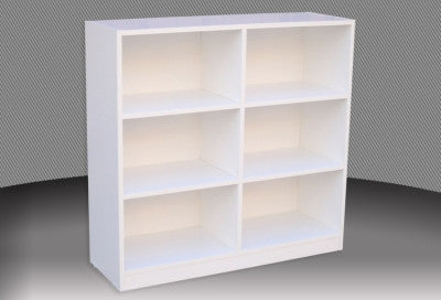 Box Bookcase in Australian Melamine - 3 ft