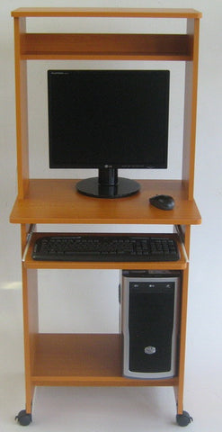 Carlie Computer Desk With Hutch