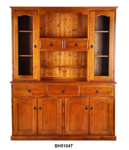 Vermont 6 Door 5 Draw Buffet Hutch
