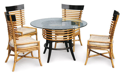 Borneo Dining Set - RT 104 BRN Set
