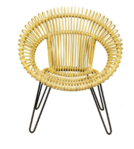 Rattan Round Woven Chair