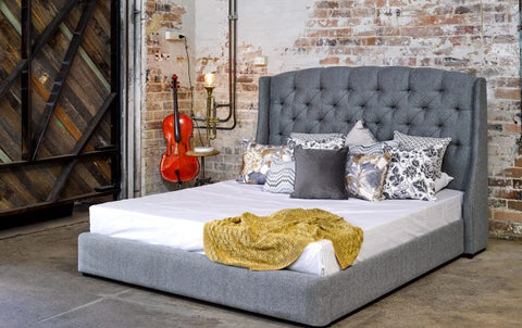 Katherine Queen Wing Bed