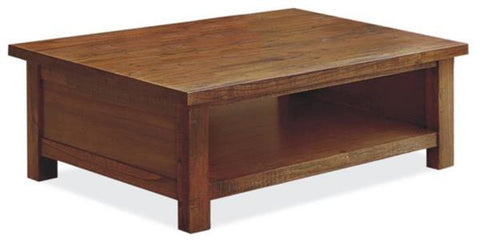 Romana Coffee Table - Open Shelf