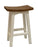 Saddle Seat Mahogany Milking Stool