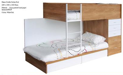 Blazer Storage Bunk Bed