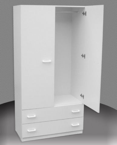 Wardrobe in Melamine