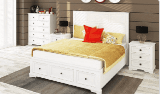 Avignon Bed Tallboy Suite