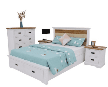 Cotswold Bedroom Dresser/Mirror Suite - 5 pc