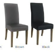 Uniqa Dining Chair - French Grey