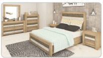 Reverie Queen Bed Tallboy Suite - 4 pc