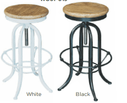 Alessia Kitchen Stool - without Back