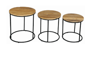 RBS Lamp Table Set of 3